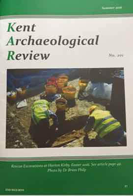 PHOTO: RRescue Excavations at Horton Kirby, Easter 2016. See article page 49. Photo by Dr Brian Philp.